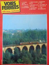 Voies Ferrees n°27 1986 - L' Ultimo Trifase - ETR e E 424 - Gottardo in N[TR.30]