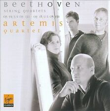 Beethoven: String Quartets 2 (Op. 18-2); 9 (Op. 59-3); 14 (op.  131); and 15 ( O