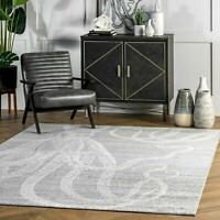 nuLOOM Contemporary Thomas Paul Area Rug in Gray