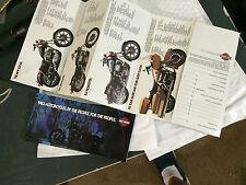 (6)harley davidson memorabilia flyers