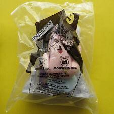 MIP McDonald's 2001 Monsters Inc #9 GEORGE SANDERSON + DOOR Sgl Toy CAKE TOPPER