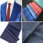 Custom Made to Measure Bespoke Mens Suit. Tweed Check Plaid Solid Pinstripe Wool