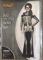 Bad To The Bone Womens Skeleton Costume
