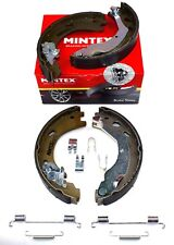 MINTEX REAR PARKING BRAKE SHOES SET FOR LAND ROVER MFR712 (REAL IMAGE OF PART)