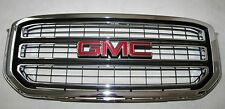 GMC Yukon Yukon XL  2015 2016 2017 Chrome Grille Grill P/N 84119634 New Take Off