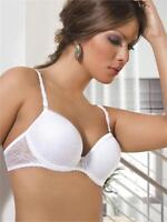 Sexy Lady Boost Enhancer Padded Push Up Comfort Underwire Bra 36B WHITE   YHJDD