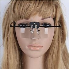 Magnifier Glasses with LED Light for Lash Extensions Great for Reading 3 Lenses