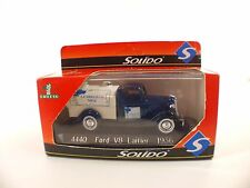 Solido 4440 •Ford V8 Laitier 1936  •neuf boite /boxed