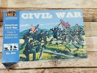 Imex # 603 1/72 American Civil War Union & Confederate Infantry Set