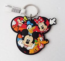 Disney Gang - Mickey & Minnie Mouse Goofy Donald Pluto Lasercut Keychain/Keyring