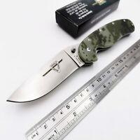 RAT Model1 Folding Knife AUS-8 Blade G10 Handle Outdoor Pocket Knive Como OEM