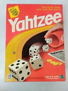 Vintage 1998 MB Milton Bradley YAHTZEE DICE Board GAME