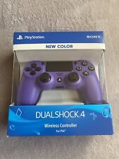 Sony Playstation 4 Wireless Electric Purple Controller Brand New PS4