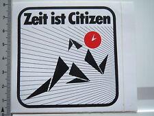 Autocollant sticker Citizen-Chronomètre-Montres (6363)