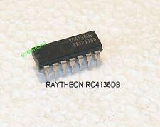 RC4136DB/CP/N (NTE997) Quad 741 Op. Amplificador 14DIP Chip