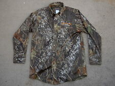ad76749c4ccdf Scent-Lok Savanna EXT Camo Button Up Shirt mens size: M