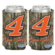 Kevin Harvick 2016 Wincraft #4 Realtree Camoflauge 12oz Can Coolie Free Ship