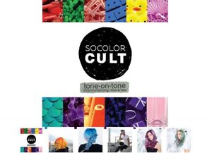 Matrix Socolor Cult Tone On Tone Hair Color Cream 90ml Professional 9 Shades