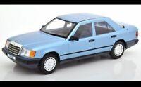 MCG, NEW, 1/18, Mercedes 300 E (W124), metallic-blue, 1984
