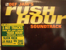"RUSH HOUR SINGLE (SLICK RICK, WU-TANG, JA RULE) (12"") ♫"