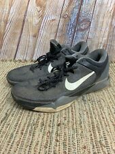 Nike Kobe VII 7 System Black/White/Wolf Grey 488371-001 Men Size 13
