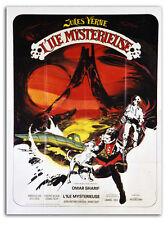 Affiche 120x160cm L'ILE MYSTÉRIEUSE /THE MYSTERIOUS ISLAND 1973 Omar Sharif #