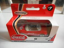 "Matchbox MGF 1.8i ""Coca Cola""  in Red in Box"