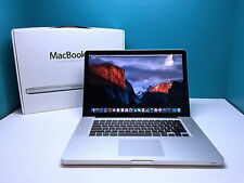 "BEST VALUE Macbook Pro 15"" Pre-Retina / 500GB / Core 2.53 / Warranty / OSX-2015"