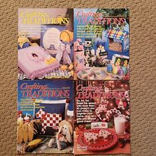 Lot of 4 Vintage Crafting Traditions Magazines from 1997 and 1998