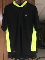 Pearl Izumi Cycling Shirt Women's Size XLarge Black Select Jersey XL