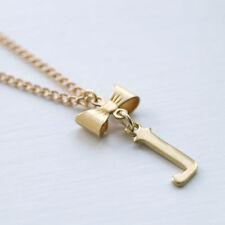 Brass Letters, Numbers Words Costume Necklaces & Pendants