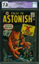 "Tales to Astonish #20 CGC 7.0 Restored -- 1961 -- Hunted by ""X"" #2004573008"