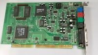 USED SOUND BLASTER AWE 64 CT4500 VINTAGE ISA DOS Retro GAMING CARD WORKING #F37