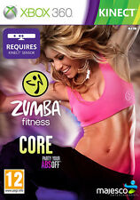 Zumba Fitness Core ~ XBox 360 (in Great Condition)