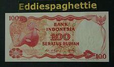INDONESIA 100 Rupiah 1984 Replacement X UNC P-122