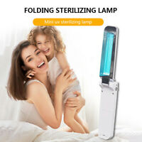 Portable UVC Germicidal Lamp Home Disinfection Battery UV Sterilizer Light Tube