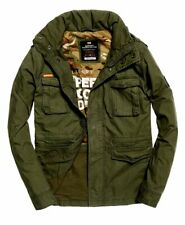 Superdry men's Rookie Military jacket SIZES XS RRP £74.99