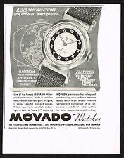 1940's Vintage 1942 Movado Watch Co. - Paper Print AD