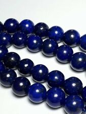 4pcs Lapis Lazuli Blue Genuine Gemstone Beads (Grade B) 10mm Crafts B36986