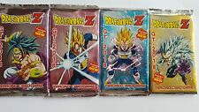 BRAND NEW 4 PACKS OF REPLICA DRAGONBALL  Z TRADING CARD PREMIUM  TRADING CARDS.
