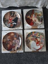EDWIN KNOWLES ANNIE SET OF FOUR (4) COLLECTORS PLATE SERIES