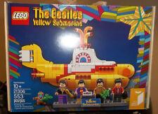 LEGO Ideas Beatles Yellow Submarine 21306 Brand New! Free Shipping!