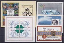 DDR Block 73, 74, 75, 76, 77 **, Block Sammlung 1983 - 1984, postfrisch, MNH
