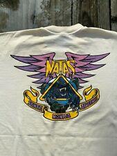 Original issue 1988 Natas Panther 3 Santa Monica Airlines size Xl skate t shirt