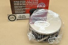 New K&N Universal Round Chrome Racing Performance Air Filter Cleaner Element