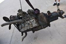 Seized 1937 Ford Flathead Flat Head Engine Motor 17 stud all cast transmission