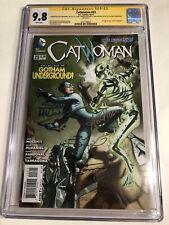 CGC 9.8 SS Catwoman #23 signed McDaniel Dodson Nocenti Sandoval Joker's Daughter