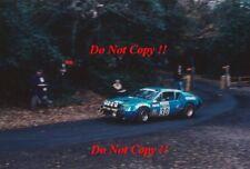 Jean Ragnotti Alpine-Renault A310 V6 RAC Rally 1976 Photograph 1
