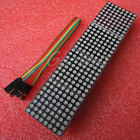 5PCS  MAX7219 dot matrix module Arduino microcontroller module 4 in one display