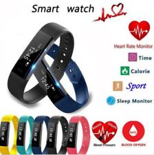 ID115HR Wristband Bracelet Smart Watch Heart Rate Monitor Fitness GPS Tracker